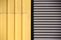Corrugated metal and metal panels