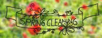 Sunny Poppy Flower, Spring, Calligraphy Spring Cleaning