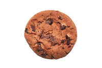 double chocolate chip cookie or biscuit