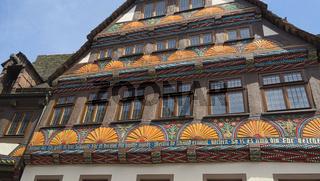 Höxter - Fachwerkhaus der Weserrenaissance, Deutschland