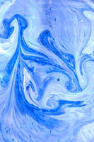 Marble effect of mixing duotone painting background.