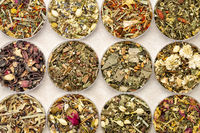 herbal blend tea set