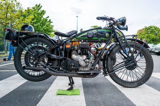 Motorcycle of D-Rad R-O/4, 1924.
