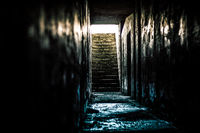 Stairway from Hell - Artillery bunker in WA State