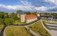 Harzgerode Castle in the Selketal Harz Valley