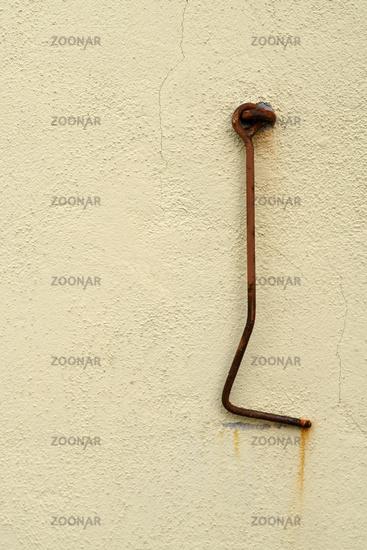 Rusty door hook