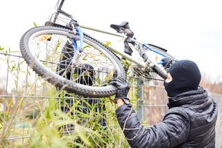 Diebe bei Fahrraddiebstahl in der Stadt