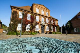 Rathaus, Ludwigslust, Mecklenburg-Vorpommern Deutschland