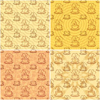 Seamless Background, Cups