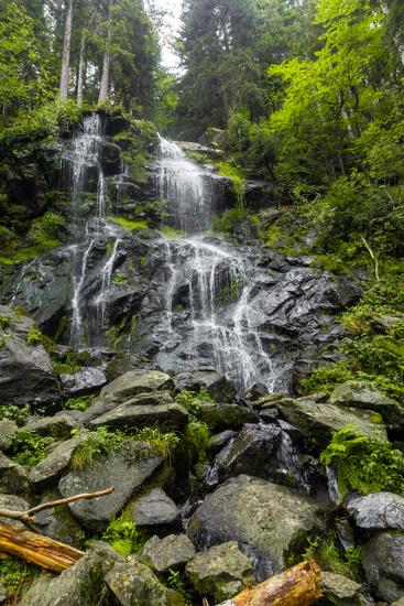 Zweribach waterfalls south Germany