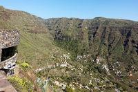 Viewpoint to Valle Gran Rey, La Gomera, Canary Islands