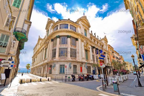 Opera house of Nice street view