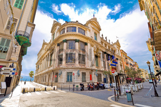Opera house of Nice street view