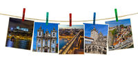 Porto in Portugal images (my photos) on clothespins