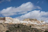 open cut marble mining