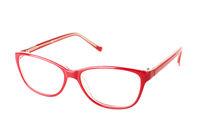 Red eye glasses