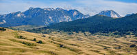 Summer mountain Durmitor National Park, Montenegro.  Durmitor panoramic road.