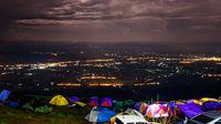 Night view at Phu Tubberk