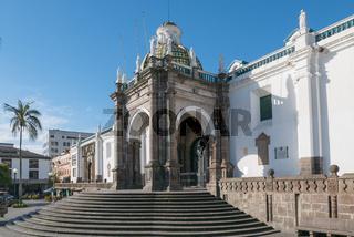 Primada Cathedral Museum Quito Ecuador