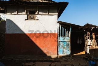House in a village in Nepal