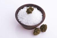 Cannabis salt, marijuana wellness products