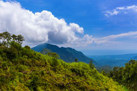 Mountains landscape - Bali island Indonesia