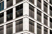 commercial real estate facade - modern office building -