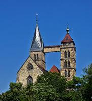 City church of Esslingen, Germany