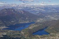 Ausblick vom Gipfel des Pizzo di Levico