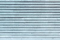 Pastel light blue painted, horizontal board wall
