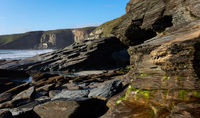 Trebarwith - coastal view - I - Cornwall