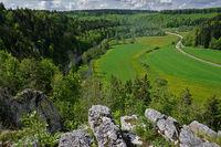 swabian alps, Lauchert-Valley