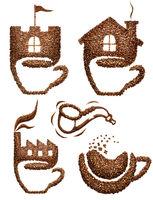 Coffee set.