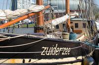 Sailing boat Zuiderzee