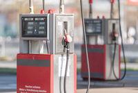 Petrol pump.