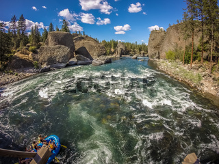At riverside bowl and pitcher state park in spokane washington