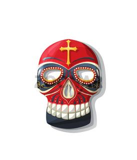 Vector tribal mask 4
