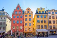 Gamla Stan old town in Stockholm city, Sweden