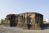 Left side view of Daitya Sudan temple of Lonar, Buldhana District, Maharashtra, India