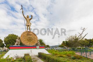 monument to General Ruminahui Otavalo