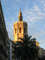 Tower of the Cathedral De Valencia.