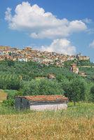 Health Resort of Chianciano Terme in Tuscany,Italy