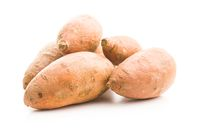 The sweet potatoes.