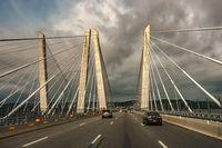 Tappan Zee Bridge across Hudson River