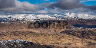 Looking North from Ben Lomond