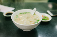 Wanton soup in Macao