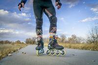 legs of fitness inline skater