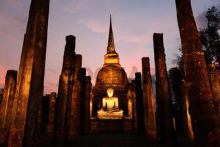 ASIA THAILAND SUKHOTHAI TEMPLE WAT SA SI