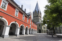 city hall, St. Patrokli cathedral, Soest, Germany, Europe