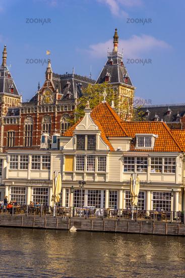 Amsterdam in springtime